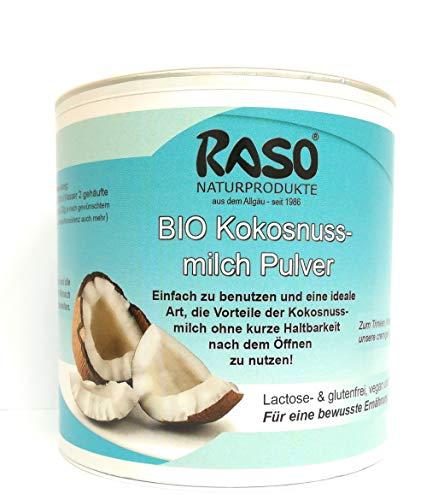 Kokosnussmilchpulver BIO | VERSANDKOSTENFREI | 300g Kokospulver | Kokosnussmilch Pulver | Kokosnussmilchpulver für Kokosmilch | glutenfrei + Ballaststoffen für Low Carb Diät