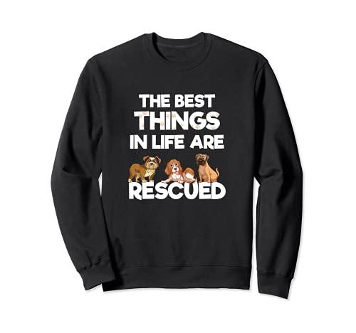 Las mejores cosas de la vida son rescatado amante de los Sudadera