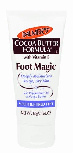 Palmer's Cocoa Butter with Vitamin E, Foot Magic Moisturizing Cream, 2.1 Ounce