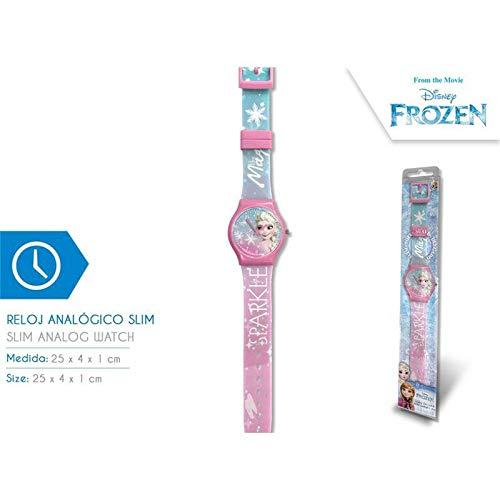 Frozen Armbanduhr, analog, Slim New Pack Armband, Unisex, Mehrfarbig, Einheitsgröße