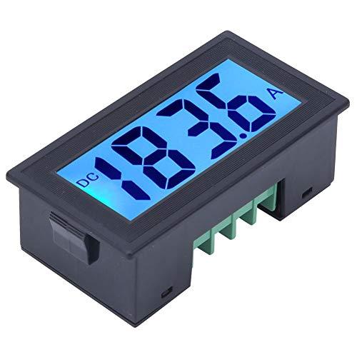 YB5135DB - Medidor de voltaje digital mini voltímetro CC con retroiluminación azul y negro, panel LED de precisión de voltio, monitor probador AC100-240V (DC 0-200V)