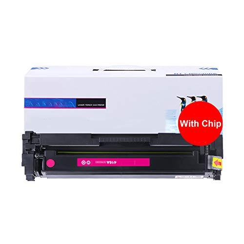 JZMY Cartucho de tóner para HP Color LaserJet Pro M454dn M454dw MFP M479dw M454nw M479fnw M479fdw Modelo 416A/W2040A, color magenta