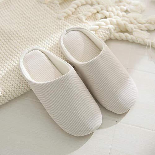 COQUI Hausschuhe Damen warm,Hausschuhe Haushalt Herbst und Winter weibliche einfache...