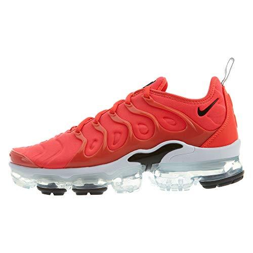 Nike Mens Air Vapormax Plus Bright Crimson/Black-White Size 10.5