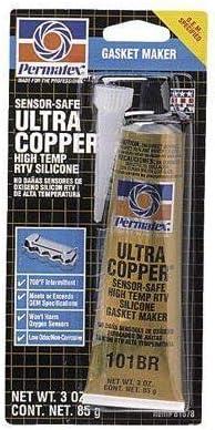 Permatex 81878 3 Oz Ultra Gasket RTV Maker Silicone El Choice Paso Mall Copper