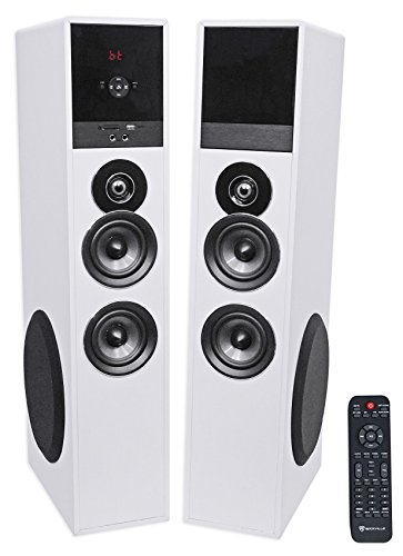Why Should You Buy Tower Speaker Home Theater System+8 Sub for LG SK8000 LED Television TV-White