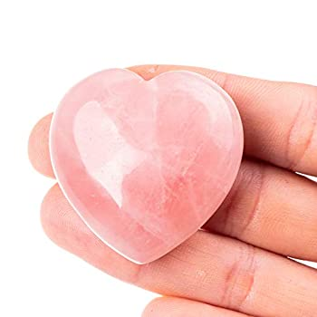 Best rose quartz heart Reviews