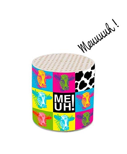 Les Colis Noirs LCN - Boite à Meuh - Cri de la Vache Jeu Jouet Enfant Bébé - 944