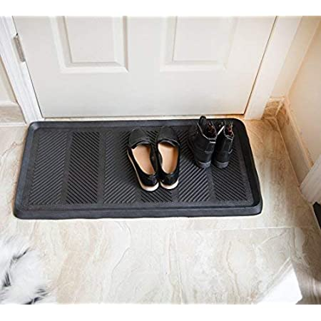 "Ottomanson Rubber Doormat, 16"" x 32"" Rectangle"