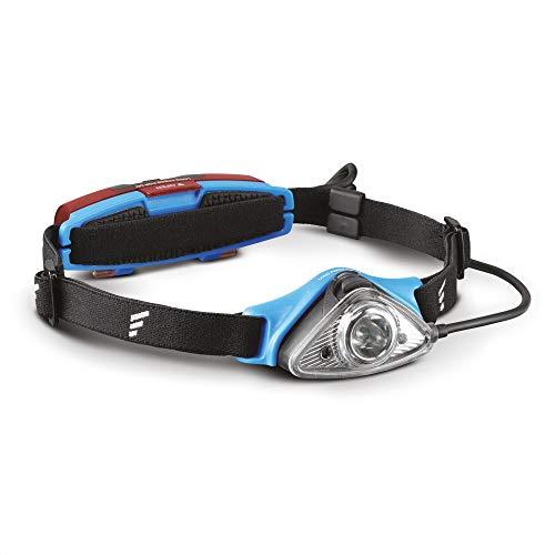 Favour Outdoor & Sport Stirnlampe LED Kopflampe IPX4 wasserdicht, Verstellbarer Leuchtkopf, Rotlicht für Nachtsicht, rotes Rücklicht, leicht & kompakt ideal für Joggen, Klettern, etc, inkl. Batterie