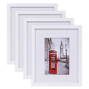 white picture frame 8x10
