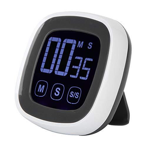 Cuque Mai Geschenke Kompaktes ABS-Material mit Magnet-Küchen-Countdown-Alarm, Grill-Timer, für Haushaltsgrill