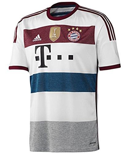 adidas Performance Herren Fußball Away Trikot FC Bayern München 2014/2015 S86760 ohne Zuordnung (999) S