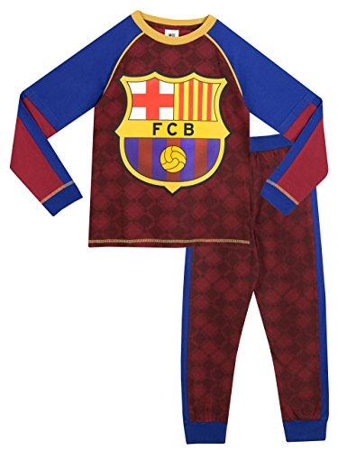 Barcelona FC - Pijama para Niños - 6 a 7 Años