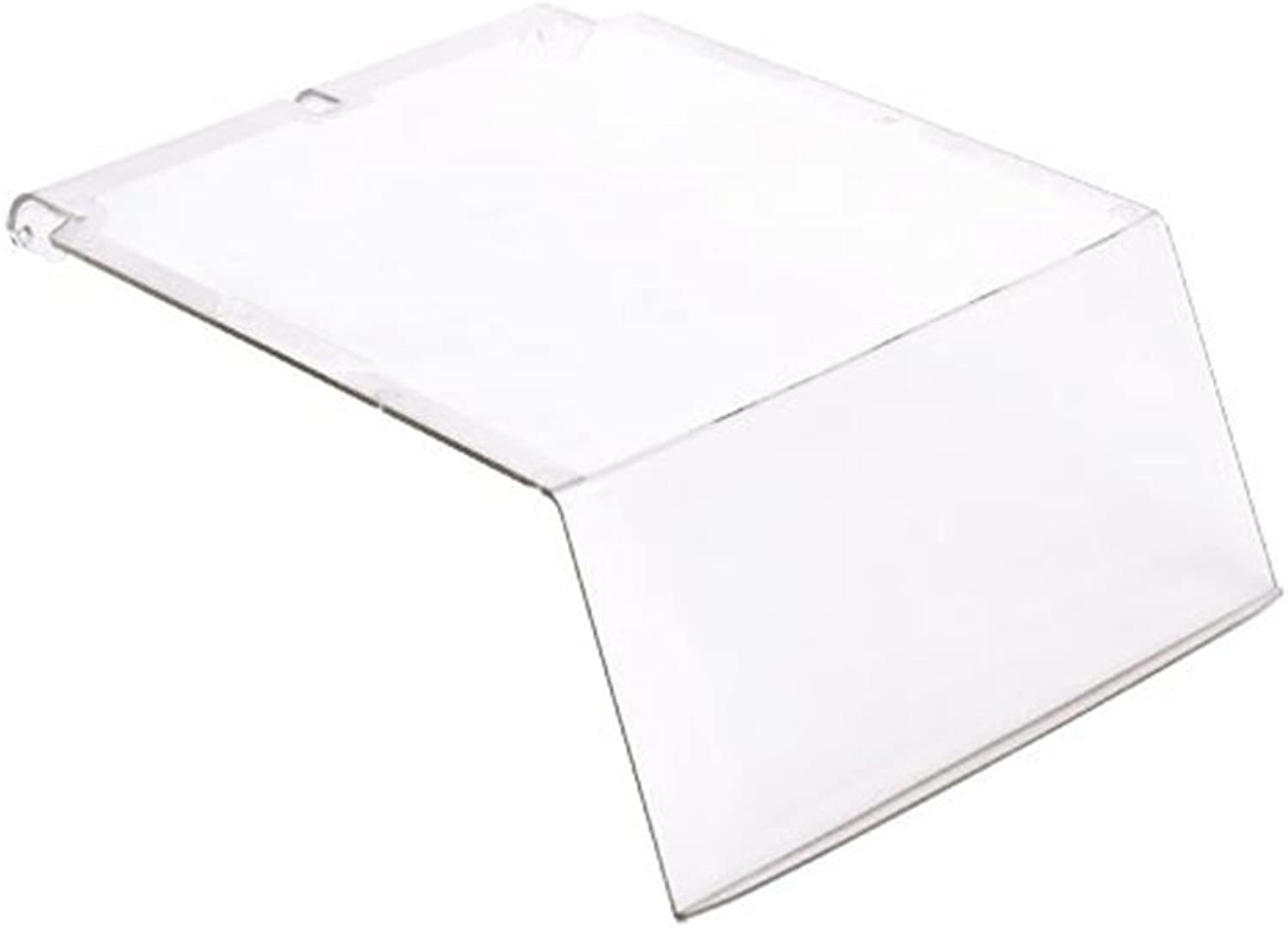 Quantum Storage System Ultra Series Clear Covers for Use with Qus239 Ultra Stack and Hang Bin Pack of 6