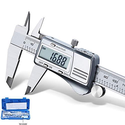 WEI-LUONG Calibrador de Acero Inoxidable Digital Caliper 150mm electrónica Industrial Todos los Metales Vernier de medición de Alta precisión Calibre Digital