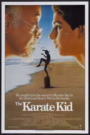 The Karate Kid - PAT Morita – Film Poster Plakat Drucken Bild – 30.4 x 43.2cm Größe Grösse Filmplakat