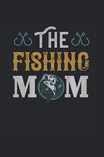 The fishing Mom: Notizbuch für Angler   leere Seiten   A5   120 Seiten