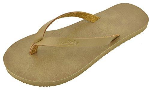 Panama Jack Damen-Sandalen mit Blumenmuster, für Strand und Bar, Beige (Hellbraun Beige), 40/42 EU