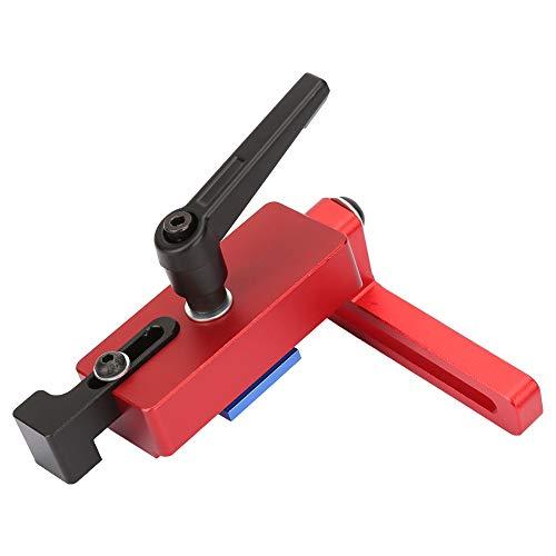 Dispositivo de límite Tope de riel de inglete Dispositivo de límite de longitud precisa 45 tipos Herramienta de carpintería
