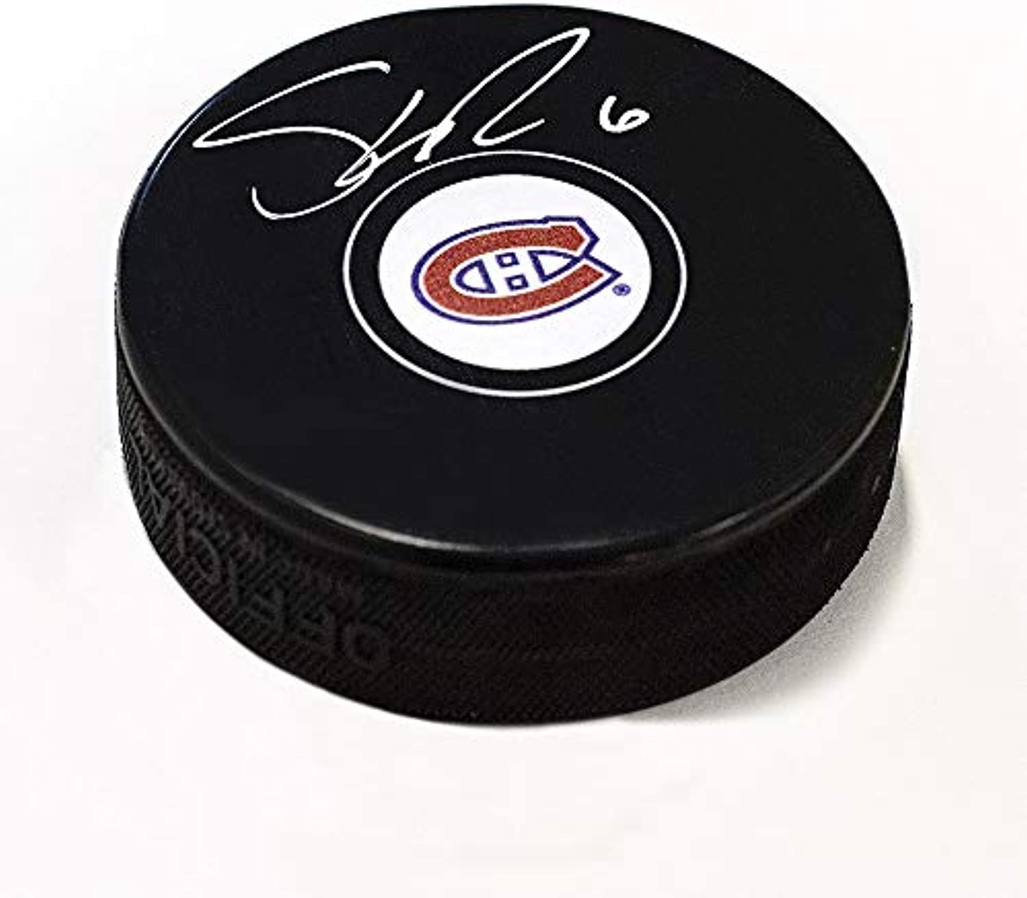 Shea Weber Montreal Canadiens Signed Autograph Model Hockey Puck