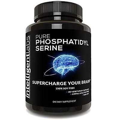 Phosphatidylserine 100mg, 100% Soy Free, Pure Phosphatidylserine