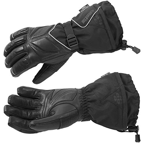 Castle X TRS G2 Womens Snowmobile Gloves - Black - LRG