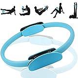 Wohlstand Ring de Pilates Yoga,Círculo de Pilates Yoga Aro Pilates Pilates Anillo de Resistencia,15'' Pilates de Doble Asa,para Perder Peso,Tonificación Corporal,Círculo de Fitness para Quemar Grasa