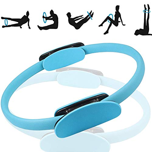 Wohlstand Ring de Pilates Yoga,Círculo de Pilates Yoga Aro Pilates Pilates Anillo de Resistencia,15