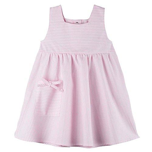 pure pure Baby Kleid/Sommerkleid aus Reiner Bio-Baumwolle Rosa Gr. 74/80