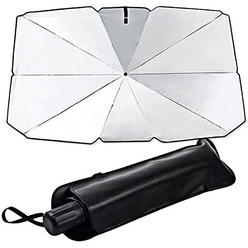Paraguas de Parabrisas de Coche para BMW F10 F11 F07 Serie 5 , Paraguas de Coche Parabrisas Interior Cubierta de la sombrilla Ventana Frontal Protección UV Sombra Cortina Parasol