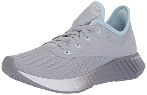 Reebok Women's FLASHFILM 2.0 Running Shoe, Cold Grey/Cool Shadow/Glass Blue, 6.5 M US