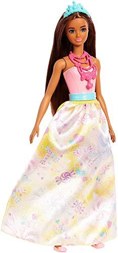 Barbie- Principessa del Regno delle Caramelle dal Mondo di Dreamtopia, FJC96