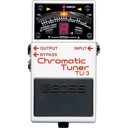 Boss TU-3 Chromatic Pedal Tuner w/Bonus RIS Pick (x1) 761294409664