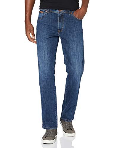 Wrangler Herren Texas Contrast' Jeans, Blau (Classic Strike 13z), W34/L32 (Herstellergröße: 34/32)