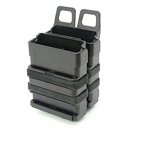 OuDos Fast Double Magazin Set MOLLE-System (BK), FMA Fastmag für M4 MAG Heavy, 5,56 mm