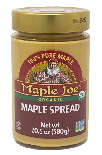 Maple Joe Organic Maple Spread - Made with only 100% Organic & Natural Maple Syrup
