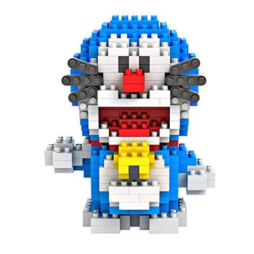 Yang baby Juguetes educativos para niños, Mini Jingle Cat montado, Bloques de construcción de Juguete Modelo de Juguete ensamblado (Color : 360 Particles)