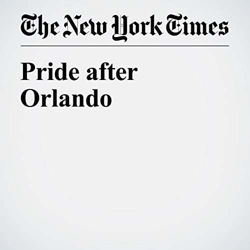 Pride after Orlando audiobook cover art
