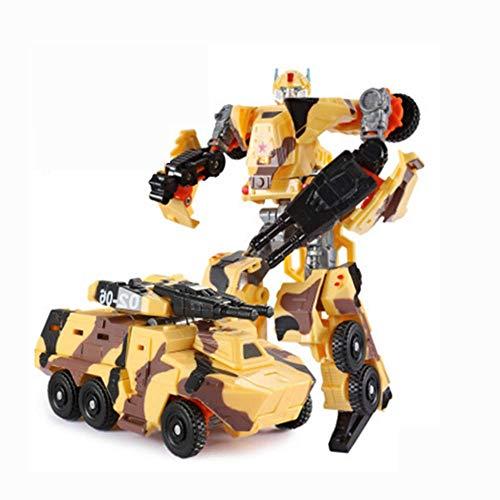 zqq Juguetes Transformado Ares King Kong Bumblebee Dinosaurio Blindado Tanque Coche De Juguete