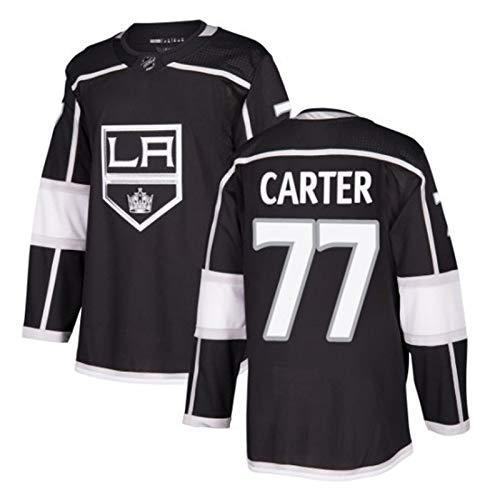 Anze Kopitar#11/Jeff Carter#77/Wayne Gretzky#99 Los Angeles Kings Eishockey Trikots Jersey NHL Herren Sweatshirts Atmungsaktiv T-Shirt Bekleidung (Color : 2, Size : L)