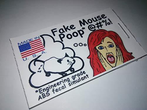 Poop Fake Mouse Novelty Prank Gift Joke