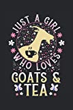 Schedule Planner 2021: Schedule Book 2021 with Goats and Tea Cover | Weekly Planner 2020 | 6' x 9' | Flexible Cover | Do to list | Goal list | Notes ... School | Gift idea for Birthday or Christmas