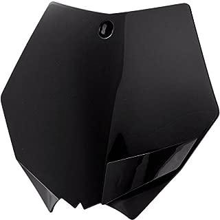 Acerbis 2082020001 front number plate (black) (2082020001)