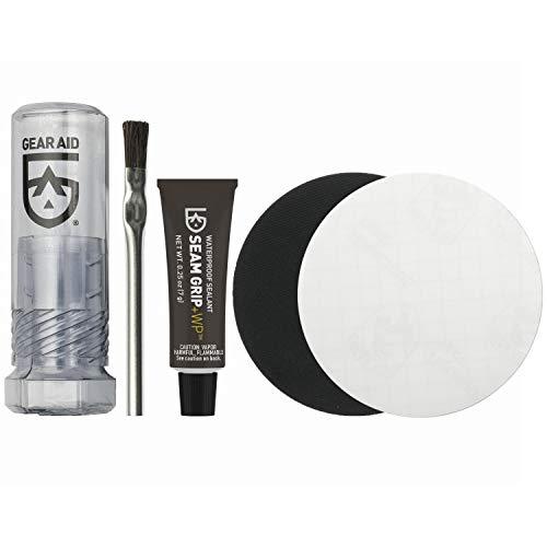 Gear Aid Seam Grip WP Field Repair Kit-Tenacious Tape Patches Adhesive & Brush