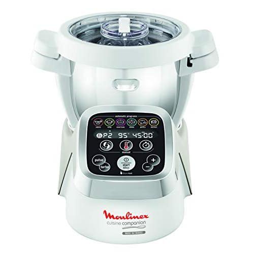 Moulinex Cuisine Companion Robot da cucina, 6programmi automatici