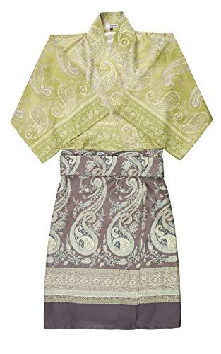 Bassetti Kimono Scauri V2 - Casco Integral (Talla L-XL), Color Verde