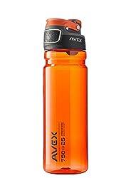 Avex FreeFlow Autoseal Water Bottle, Burnt Orange, 750ml/25 oz