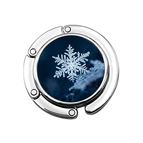 Gancho para Monedero Snows Cristales Soporte para Monedero Plegable Gancho para Bolsa...