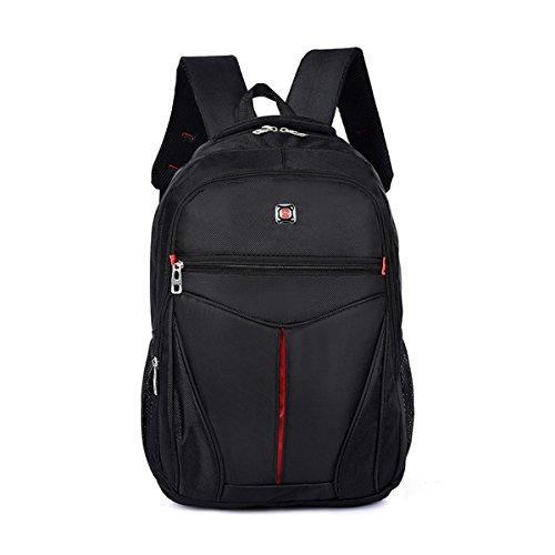 Sport sac à dos Oxford multifonction grande capacité imperméable à l'eau sac à dos en plein air Business Student Pack d'ordinateur pour hommes et femmes H50 x L34 x T15CM